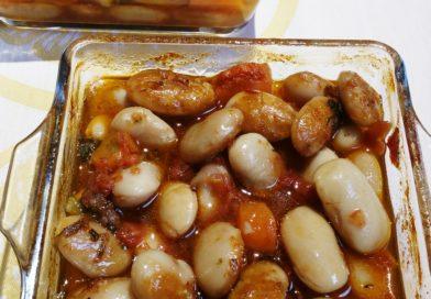 Haricots géants de Kastoria au four – Φασόλια γίγαντες στον φούρνο