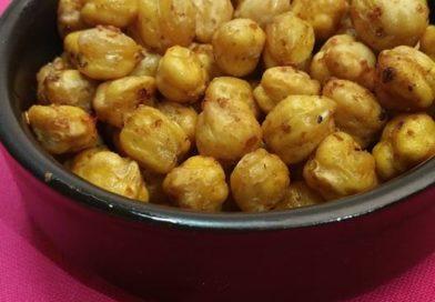 Pois Chiches grillés – stragalia ston fourno