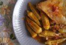 Κοτόπουλο με Μπάμιες  – Poulet aux  gombos ' bamyes'