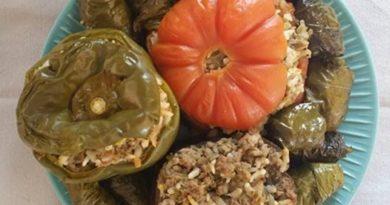 Légumes farcis  à la feta