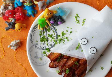 Citrouille frite