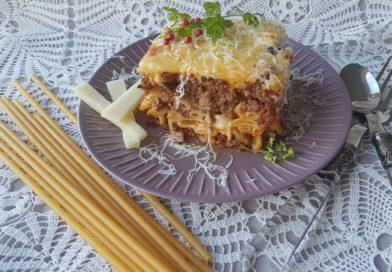 Pastitsio grec  – Gratin de pâtes à la bolognaise et béchamel