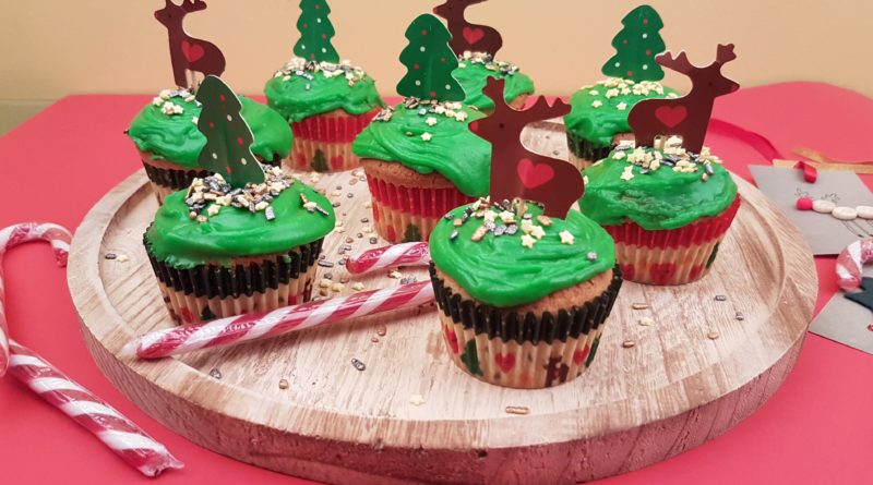 Vasilopita – Cupcake – Gâteau du Nouvel An d'Akis