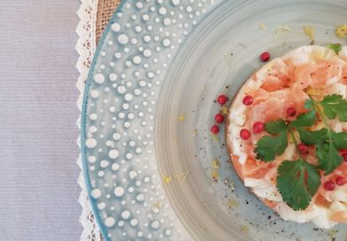 Tartare de saumon ou daurade au fenouil et à la bergamote « pergamoto »