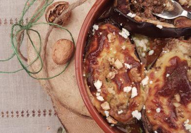 Aubergines farcies à la viande – Melitsanes papoutsakia