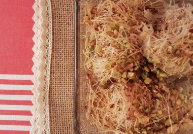 Kadaifi aux noix en format individuel