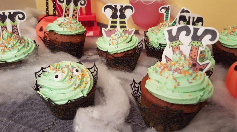 Cupcakes au yaourt grec des sorcières