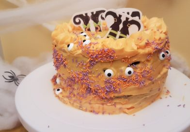 Layer cake aux fantômes – concours Foodista #45