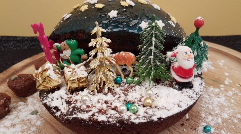 Vasilopita aux noix et à la caroube – Gâteau de nouvel an