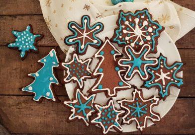Biscuits de Noël à la cannelle et sirop de caroube