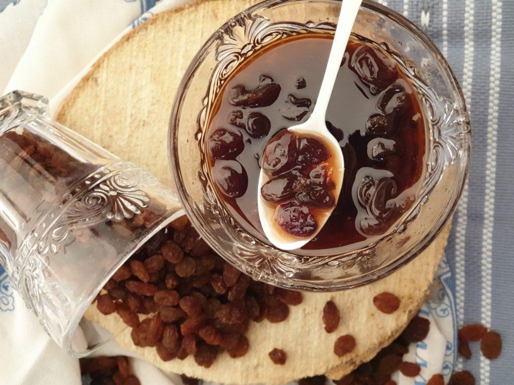 confit raisins