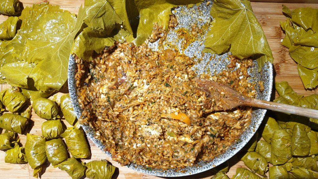 farce pour legumes farcis à la grec