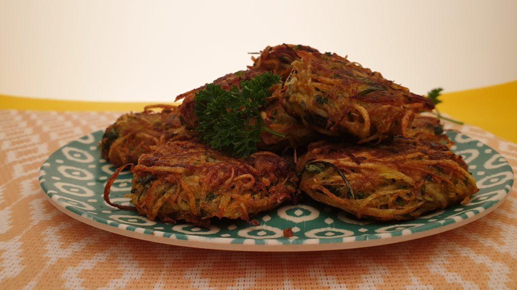 recette galettes aux legumes