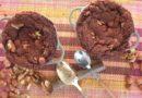 Brownies à la farine de gland et à la caroube