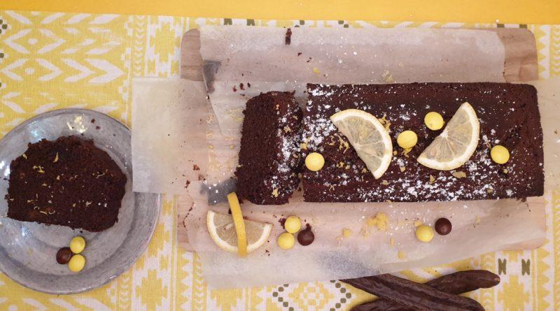 cake au citron et caroube