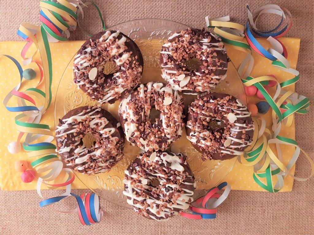 Donuts à la caroube