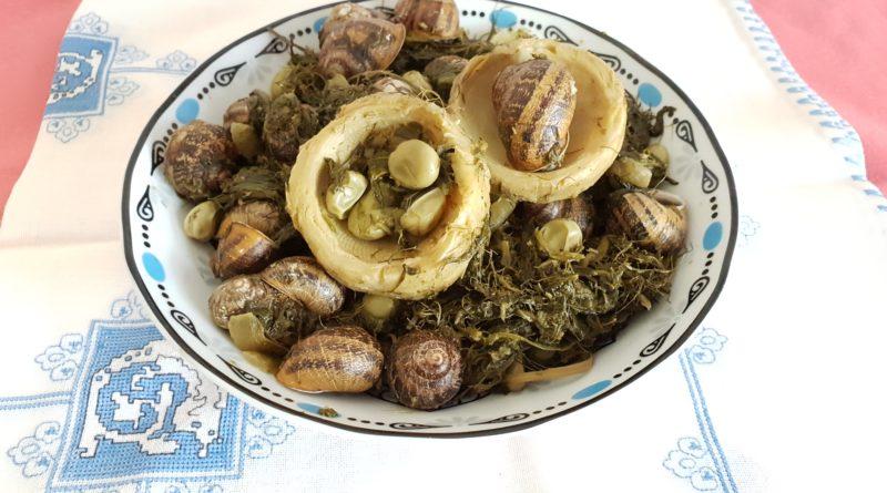 recette des escargots aux artichauts