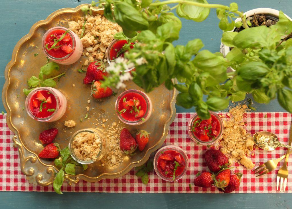 Gâteau mamadistiko aux fraises