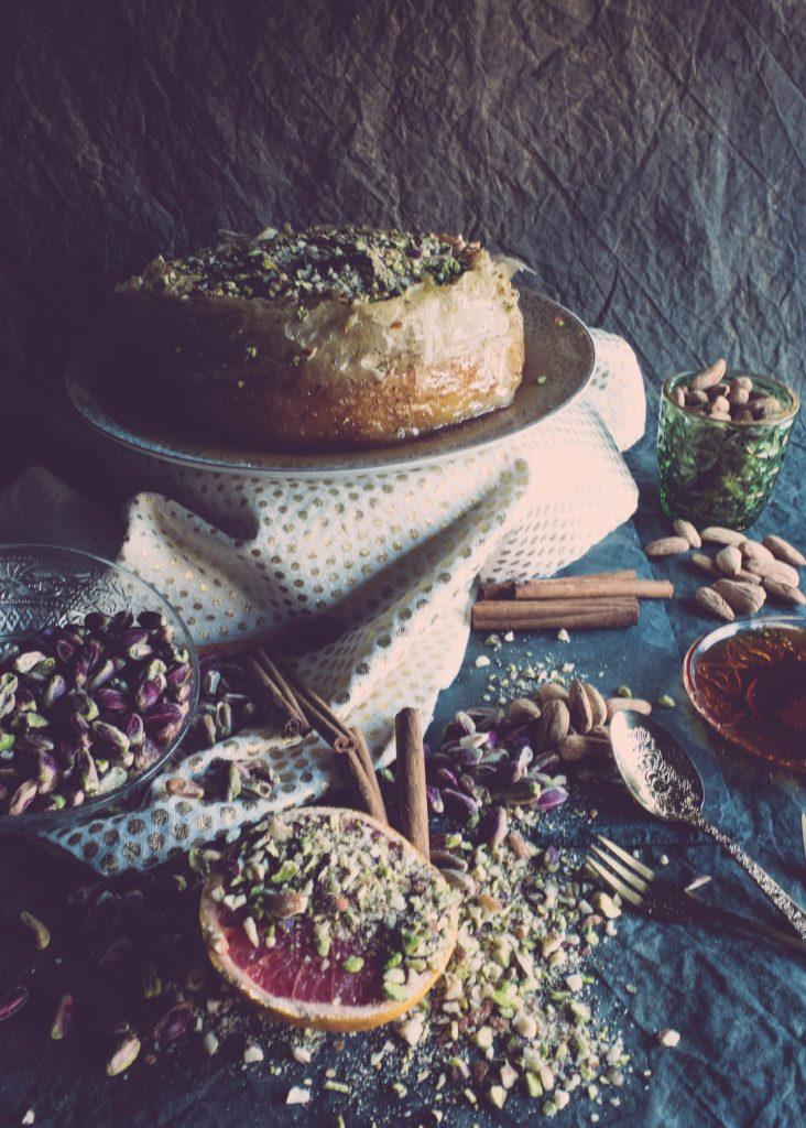 recette de grece à base de baklava et de cheesecake