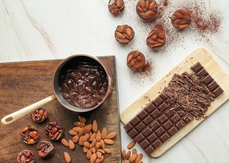 petits rochers au chocolat