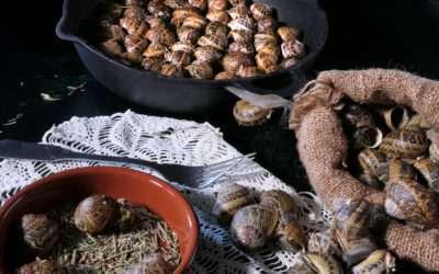 Escargots frits à la crétoise