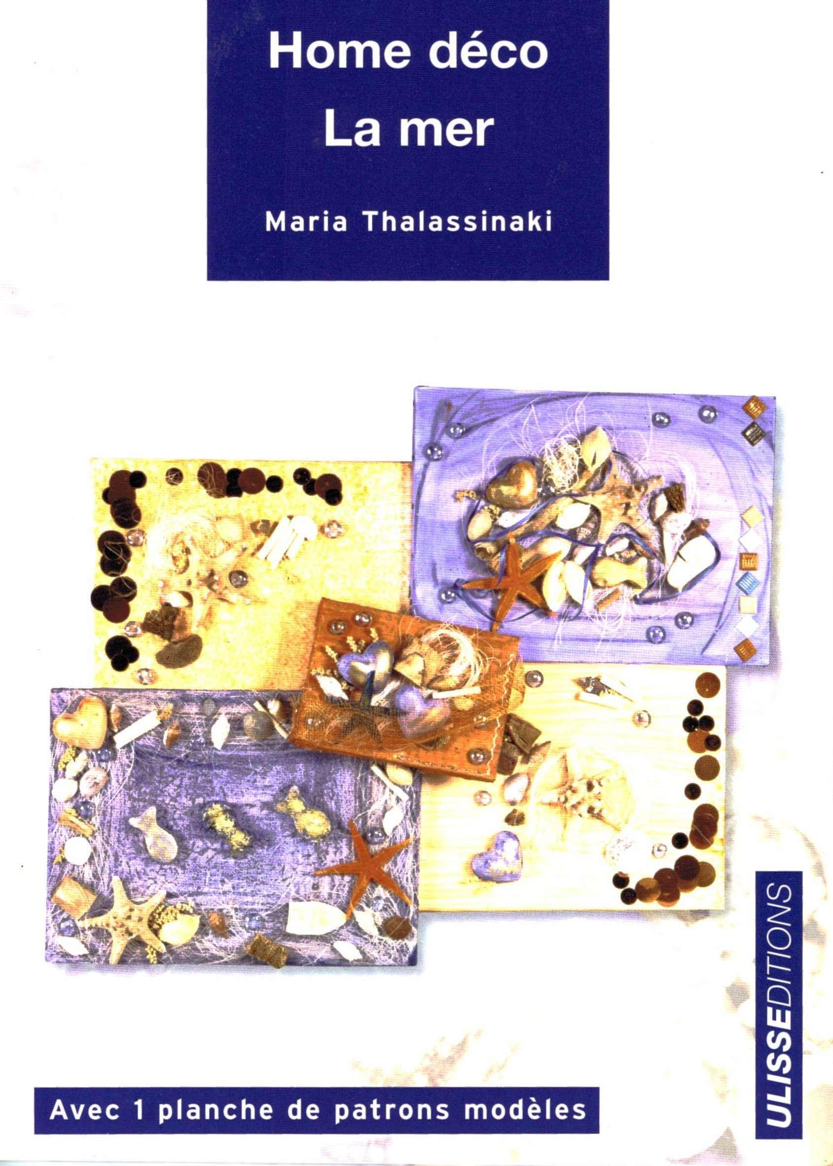 livre sur la deco de la mer, loisirs créatifs