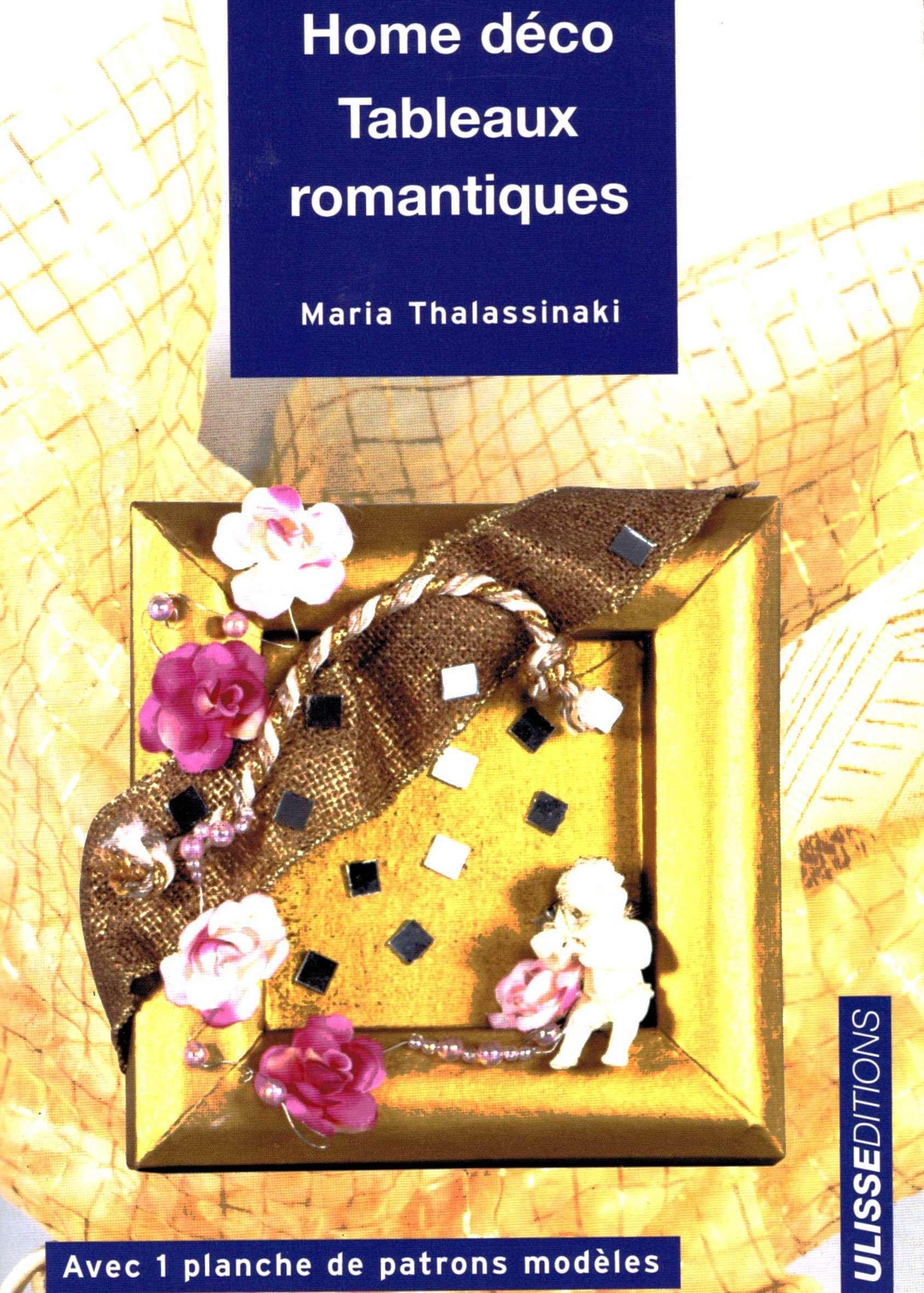livre sur la décoration en tableaux romantiques