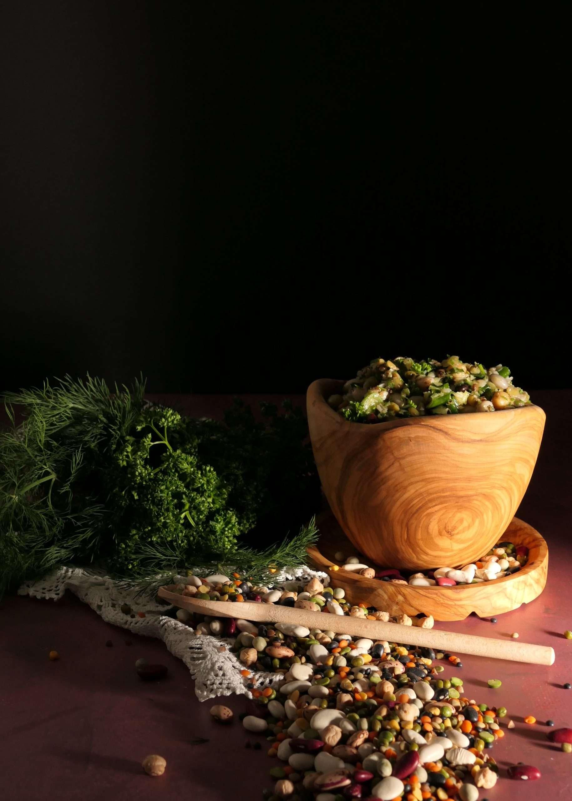 salde grecque aux legumes secs