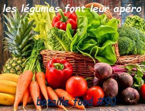 panier avec des legumes frais