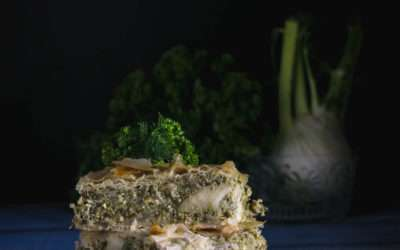 Hortopita – tarte aux verdures